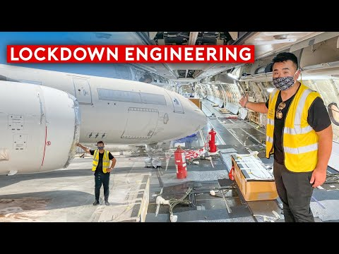 What Really Goes On Inside The Grounded Planes and Engineering?
