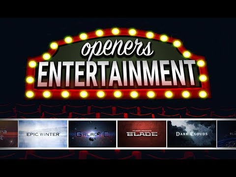Entertainment Openers Set | Filmora Effects Store