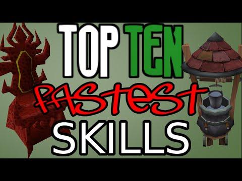 Top 10: Fastest Skills! [Runescape 2014]