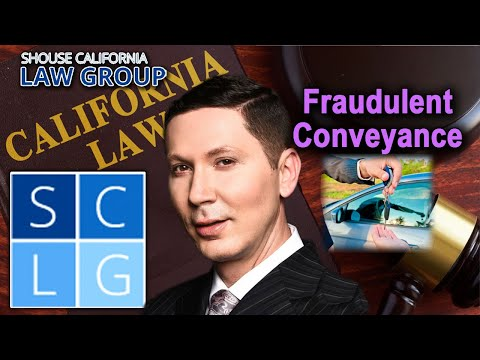 "What is a ""fraudulent conveyance"" in California and is it illegal? – Penal Code 154 PC"