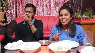Bengali Vlog # আজ আমাদের  বিবাহবার্ষিকীতে করলাম food challenge