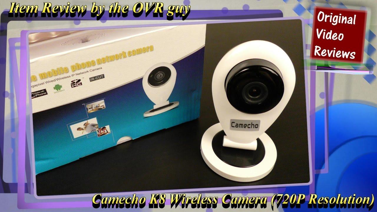 Item review - Camecho K8 Wireless Camera (720P Resolution)