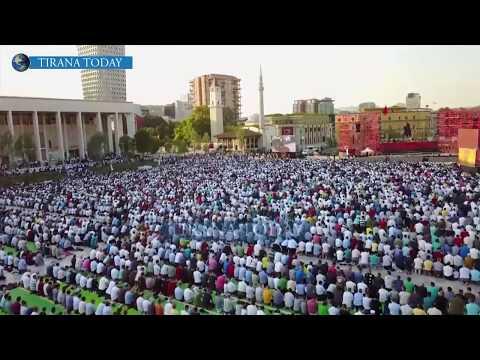 Amazing Eid Al Fitr Prayer in Albania 2017   Eid Mubarak To All