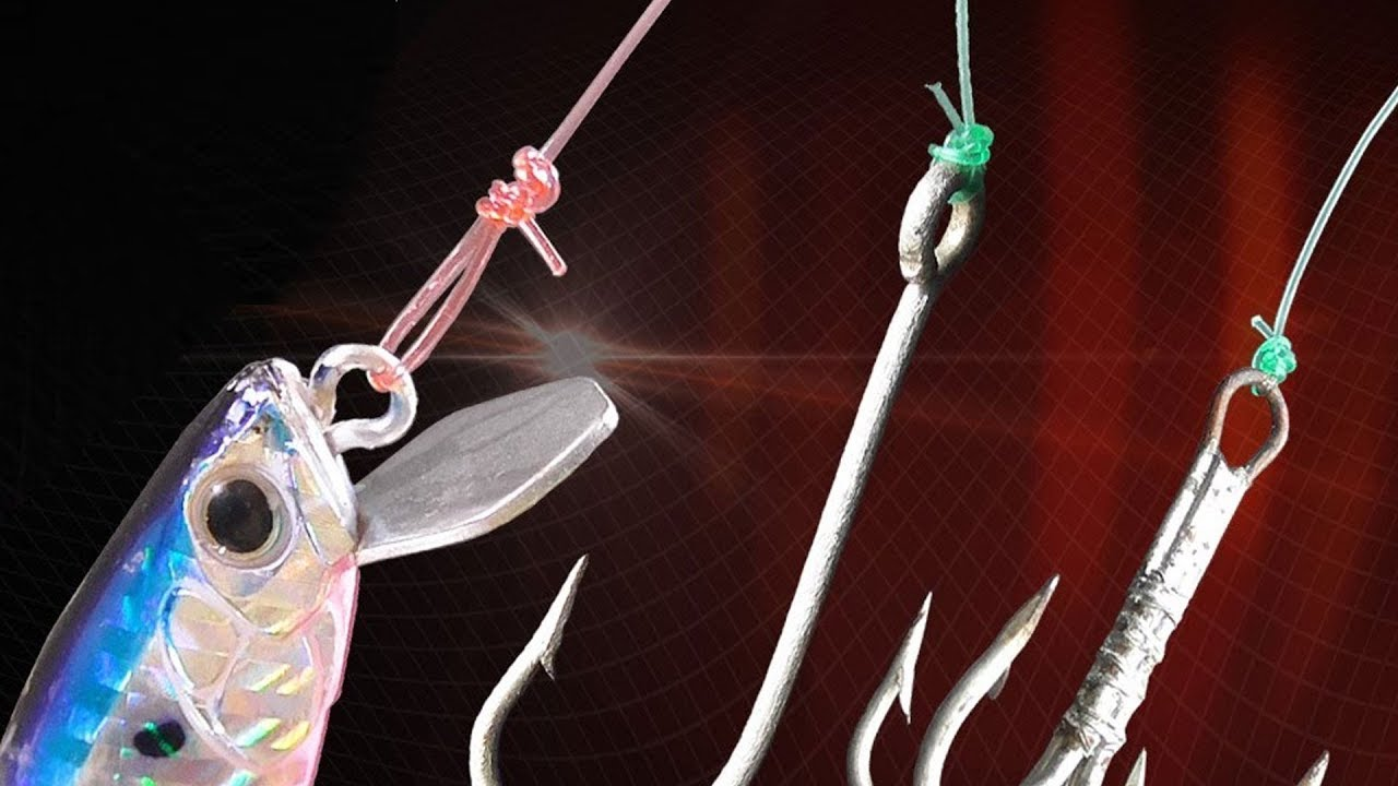 Cách buộc Lưỡi Câu, Buộc Link, Buộc Mồi Giả Để Câu Cá Lóc Đơn Giản Nhất