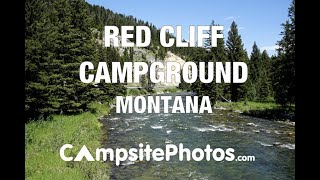 Red Cliff Campground, Montana