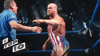 Kurt Angle annihilates everybody: WWE Top 10, Nov. 4, 2017