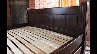 видео Кровати из массива дерева