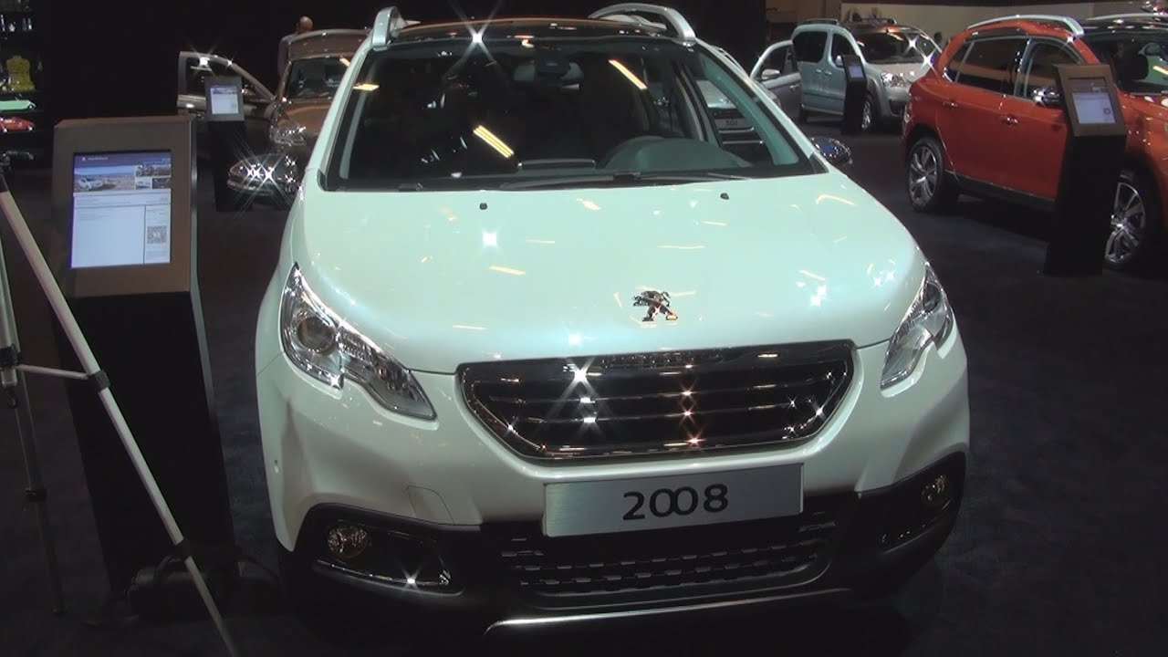 peugeot 2008 allure 12 puretech 82 hp 2015 exterior and