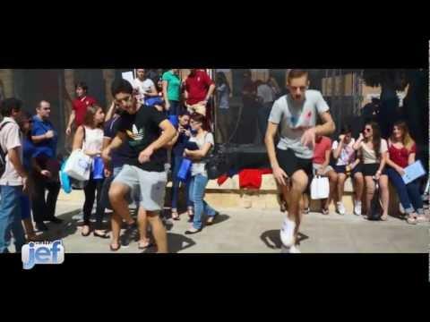Malta Street Shufflers :: JEF Malta @ Freshers' Week 2012
