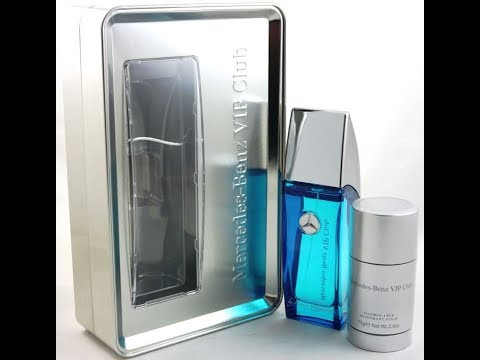 Mercedes-Benz VIP Club Energetic Aromatic Fragrance Review (2015)