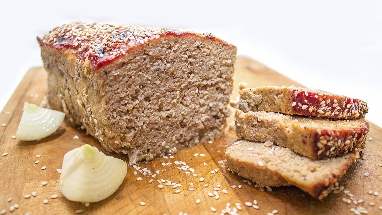 Мясной Хлеб. Очень вкусное блюдо из фарша!