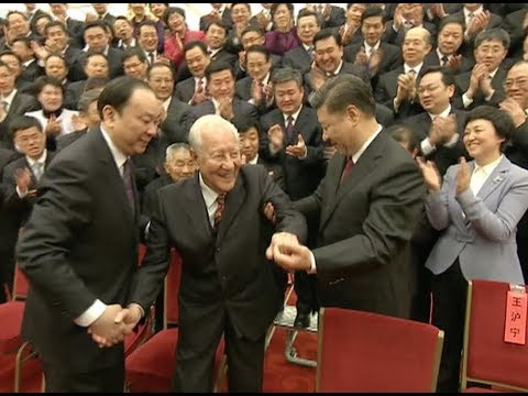 Xi Shows Great Respect for Elderly