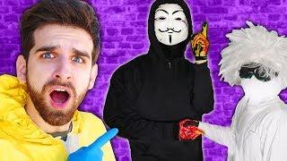 JOSEPH BANKS & HACKER are BEST FRIENDS? Scientist Traps Vy Qwaint Spy Ninjas in Underground Hatch!