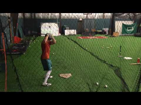 Dan Morgan Olney Central College RS Sophmore hitting video