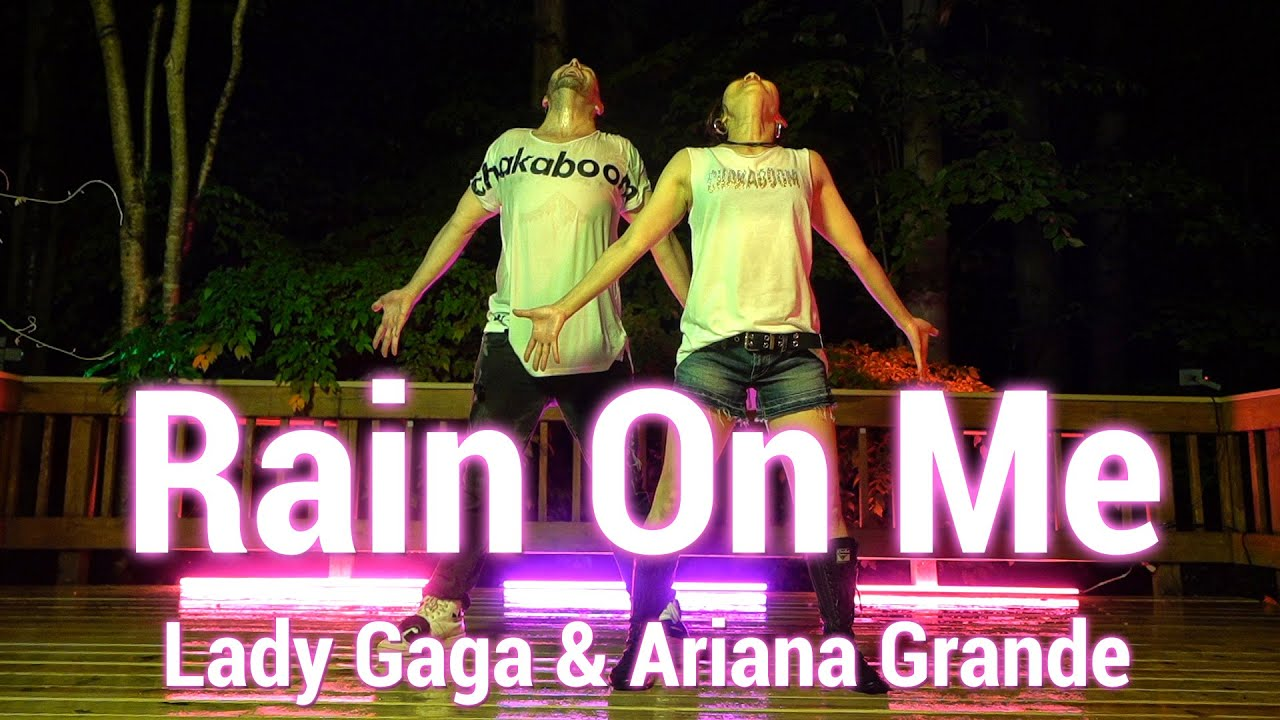 Lady Gaga, Ariana Grande - Rain On Me - Dance l Chakaboom Fitness Choreography