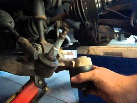 Ford F  Ball Joint And Control Arm Replacement