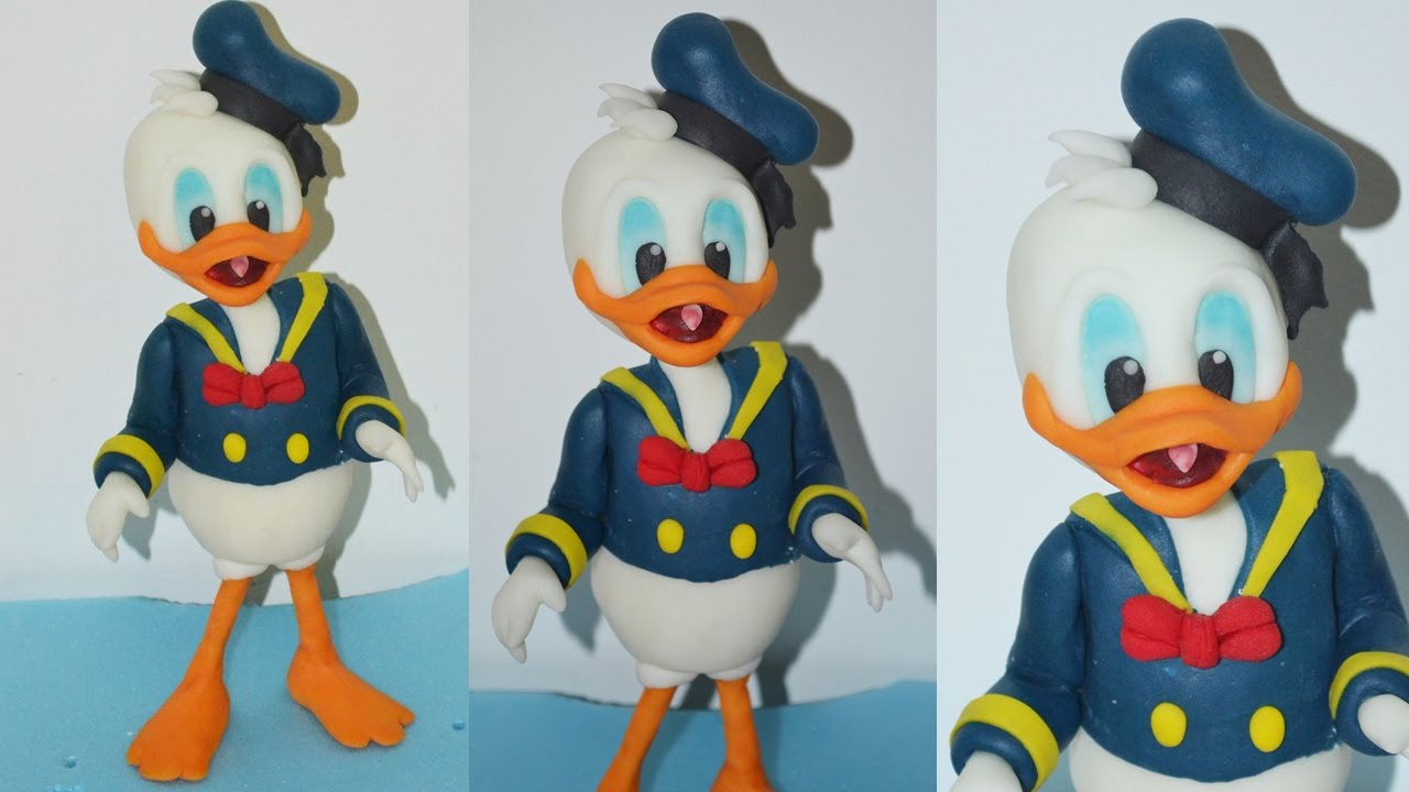 Donald Duck Cake Topper Tutorial