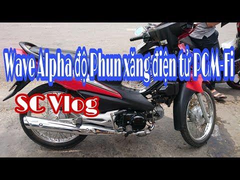 SC-62 | Wave Alpha 100cc độ Phun Xăng điện Tử | SC Vlogs
