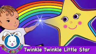 Twinkle Twinkle Little Star | Nursery Rhymes with lyrics by MyVoxSongs thumbnail