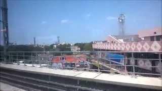 Chennai metro ride from Ekkaduthangal to Ashok Nagar