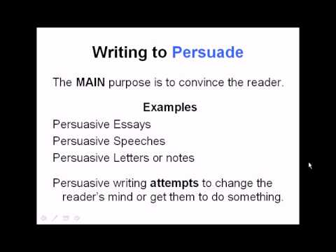 author s purpose and modes of writing common core reading skills author s purpose and modes of writing common core reading skills video