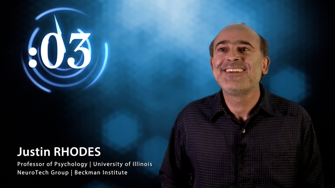 A screenshot from 60 Second Science: Justin Rhodes on Studying Mice and Clownfish