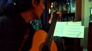 STUDY 2 - Prelude - Matteo Carcassi (Arr. Tzavok) - By Efraín Misari