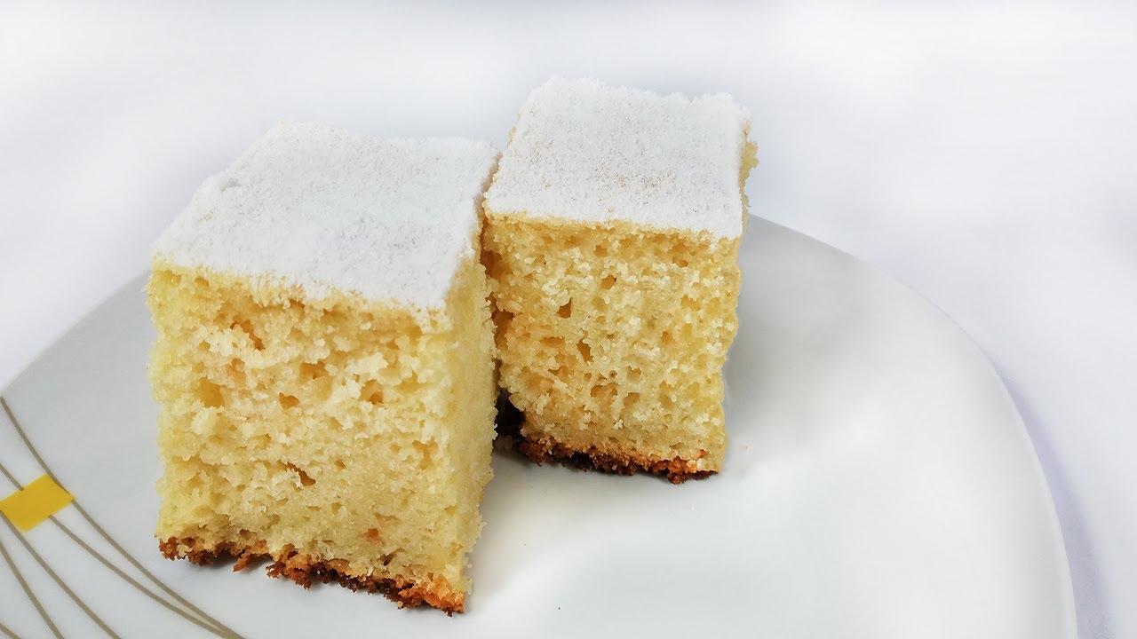 Prăjitură cu gris și chefir
