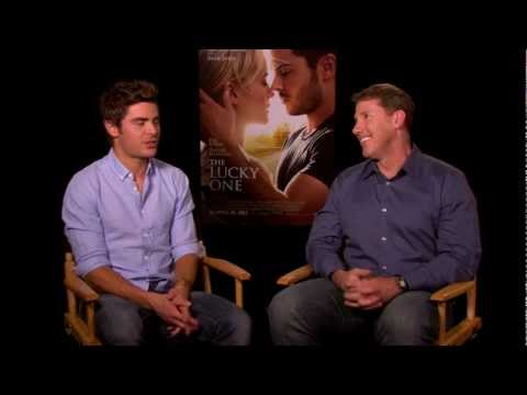Happy Valentine's Day from The Lucky One's Zac Efron and Nicholas Sparks