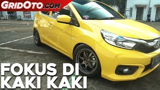 Modifikasi Honda All New Brio Ala Pembalap Nasional | Modifikasi Mobil | GridOto