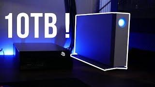 10 TB Video Storage Drive - laCie d2 10 TB Review