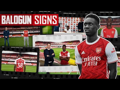 Folarin Balogun signs new long-term Arsenal contract