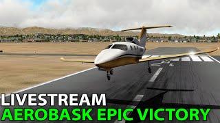 [Livestream] Aerobask Epic Victory v2.0 on PilotEdge ✈️ 2016-09-03