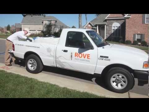 Rove Pest Control - Residential Service Video