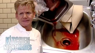 'Fresh Food' Restaurant Is Full of Disgusting Frozen Food | Kitchen Nightmares
