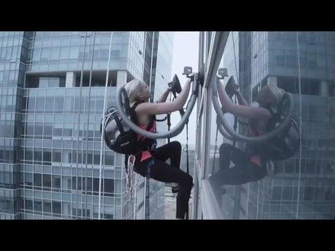 LG 청소기 흡입력으로 33층 빌딩 올라 / YTN 사이언스