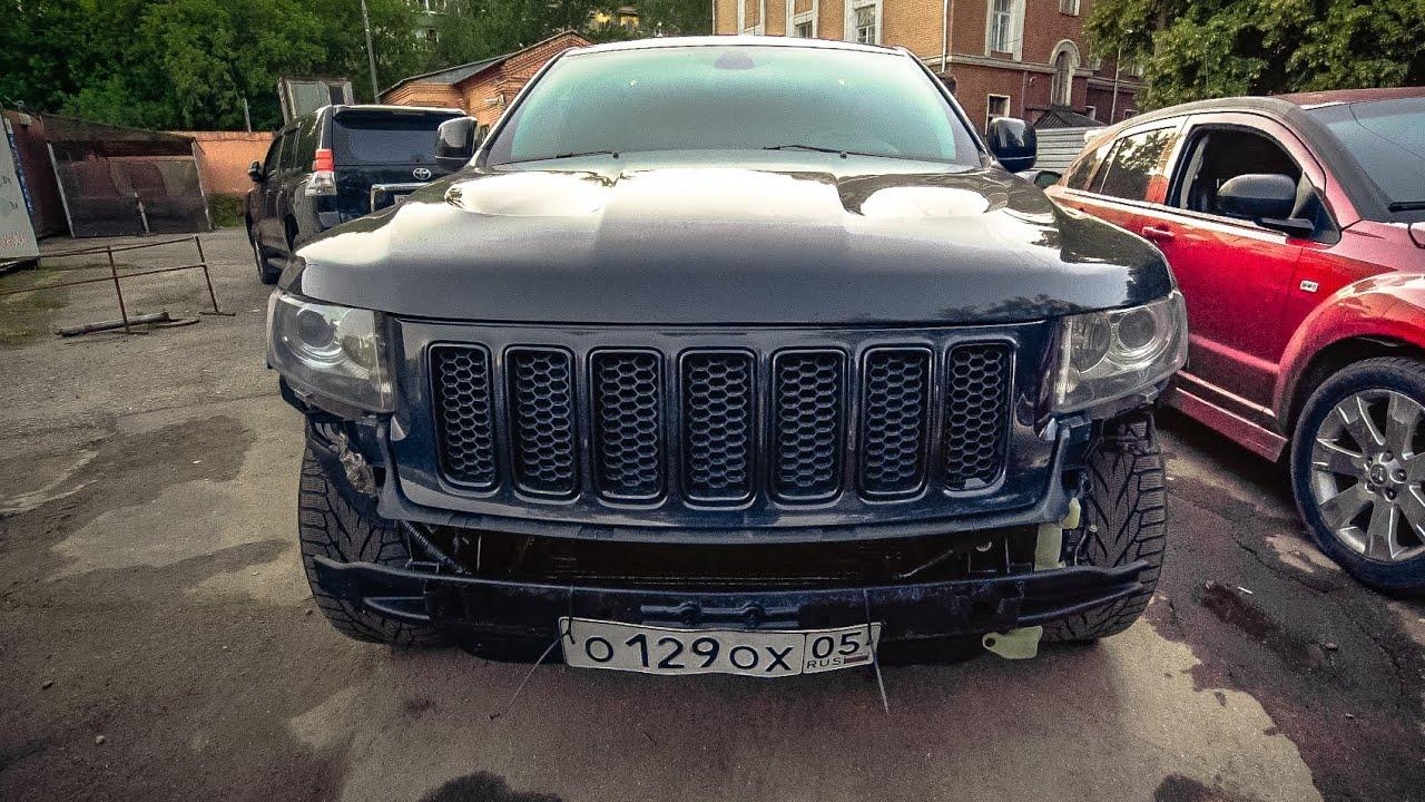 Восстановили джип за 60 тыс рублей