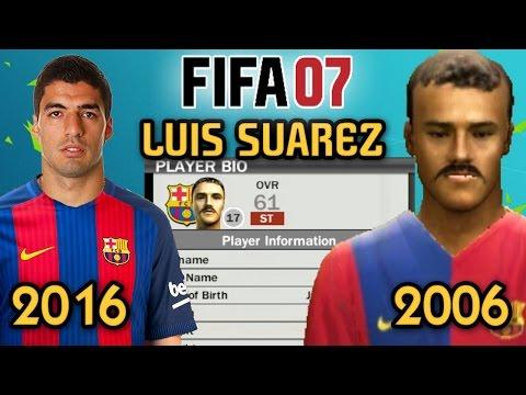 LUIS SUAREZ IN FIFA 07!!!