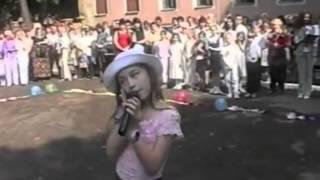 Выступление ЮЛИИ ПЛАКСИНОЙ в 2002 году.
