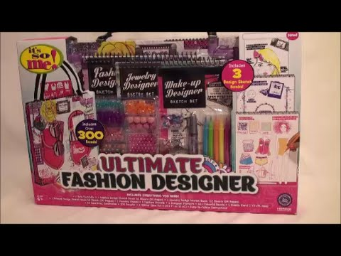 Ultimate Fashion Designer Sketch Book Set Review Youtube