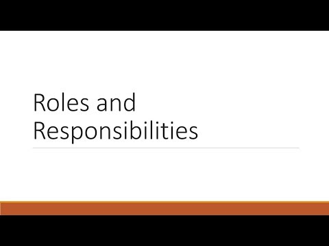 Data Management Roles and Responsibilities