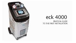 видео Ecotehnics ECK 1890 Установка для обслуживания кондиционеров