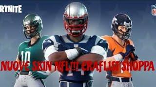 NUOVE SKIN NELLO SHOP/ FORTNITE x NFL / KnS