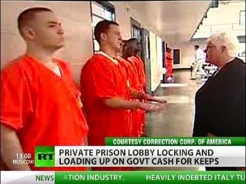 Profit From Punishment: Prison Lobby Locking 'n' Loading Up On Cash
