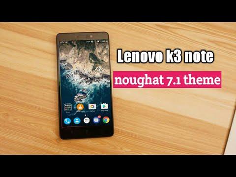 Nougat theme for Lenovo phones vibe ui k3/k4/k5