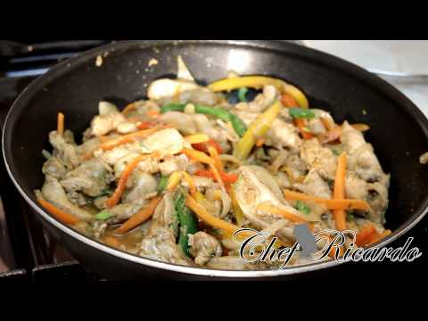 Make Your Chinese New Year Chicken Recipes 2015 | Recipes By Chef Ricardo