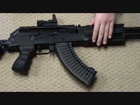 AK-47 CPW airsoft review Part 1