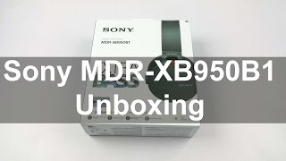 Sony MDR-XB950B1 Unboxing & quick Hands on Review - First Look | Nothing Wired