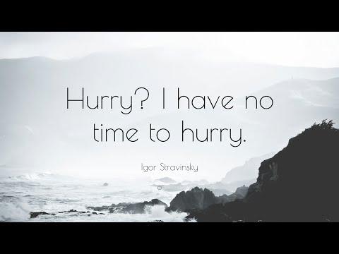 TOP 20 Igor Stravinsky Quotes