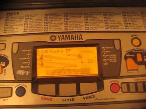 yamaha psr 280 demo song 6 funky ep youtube. Black Bedroom Furniture Sets. Home Design Ideas